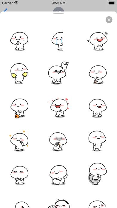 Animated Little Monk Sticker screenshot 3