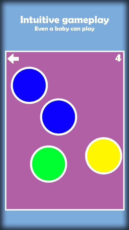Tap the Color Dots