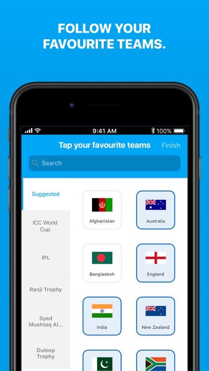 Cricinfo - Live Cricket Scores screenshot-5
