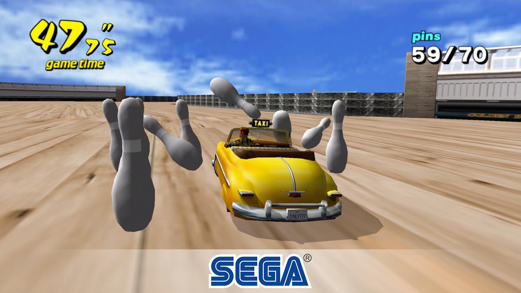 Screenshot do app Crazy Taxi Classic