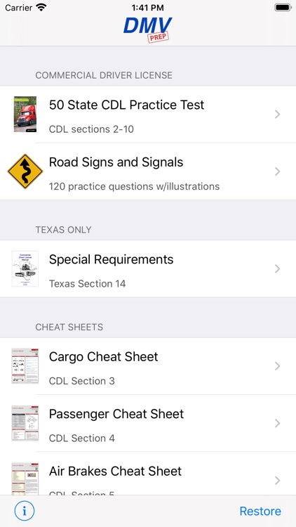 CDL Test Prep Pro screenshot-0