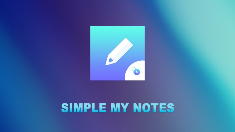Simple My Notes