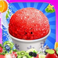 Activities of Snow Cone Maker -- Frozen Food