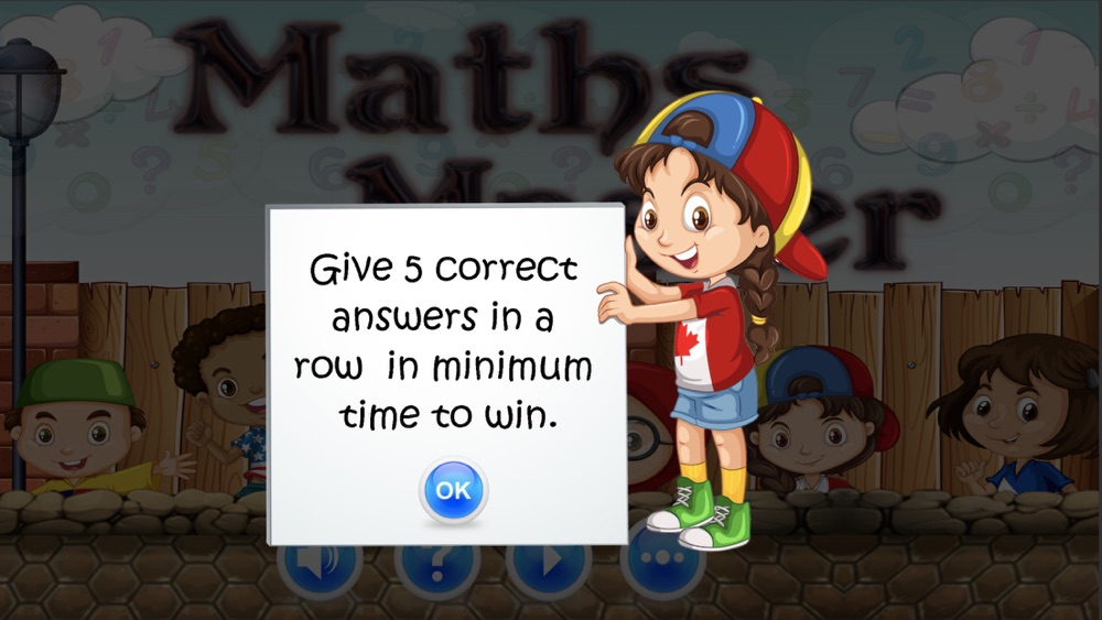 Master of Maths : Early Learn App for iPhone - Free Download