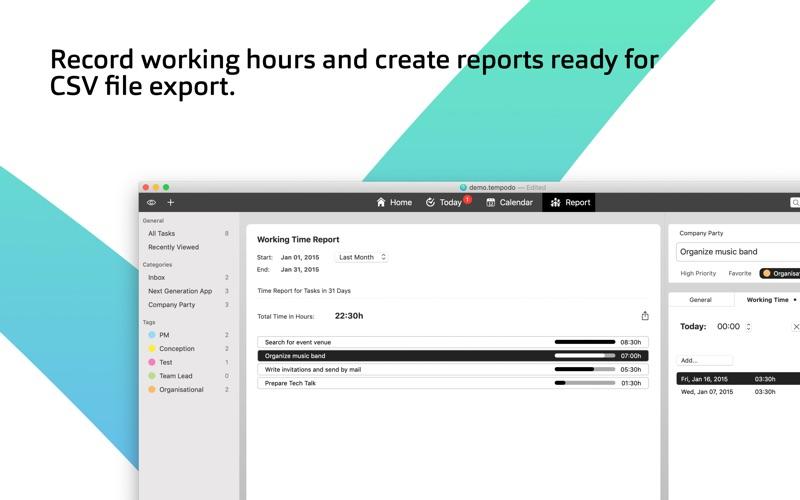Tempodo To-Do List for Mac