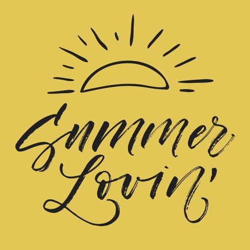 Summer Lovin' Stickers