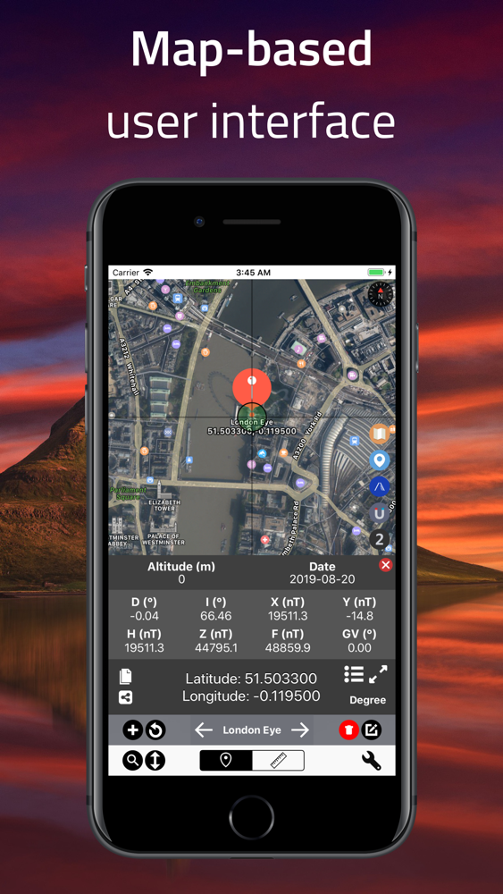 iPhone dating app med GPS