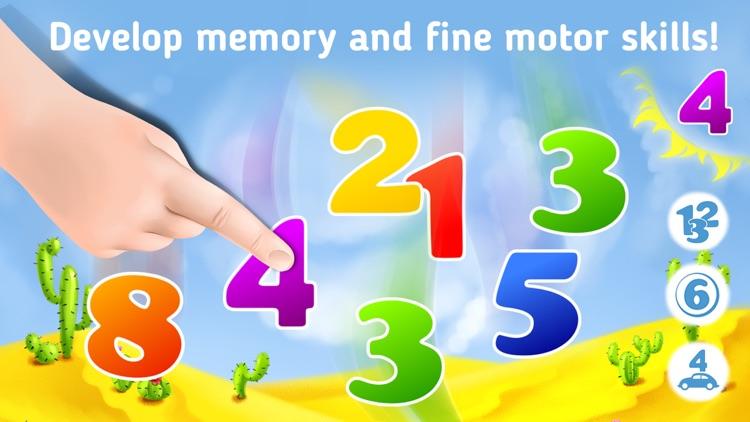 123 Learning numbers games 2+ screenshot-3