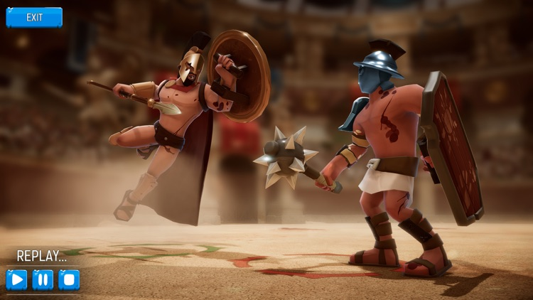 Gladiator Heroes Clash screenshot-2