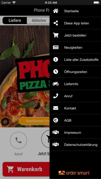 Phone Pizza & WokScreenshot von 2