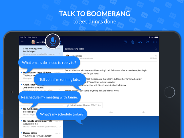 ‎Email Client - Boomerang Mail Screenshot