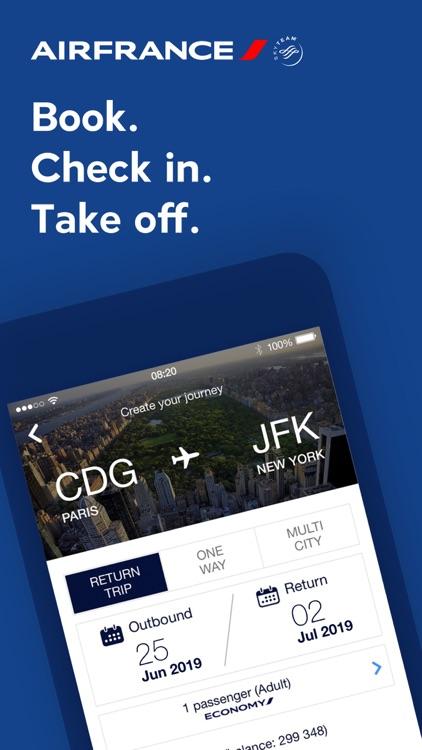 Air France screenshot-0