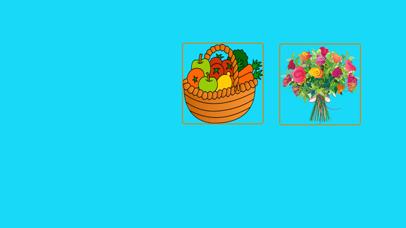 Flower & Fruit Names Learning screenshot 1
