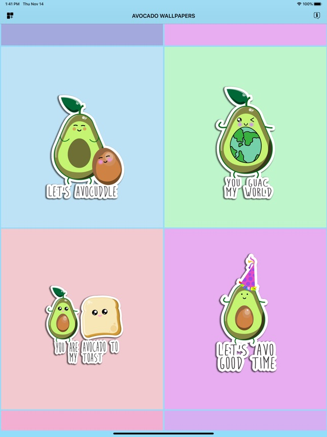 Avocado Wallpapers Stickers On The App Store
