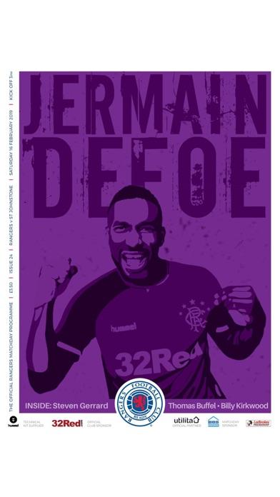 Rangers FC Digital Programme screenshot 8