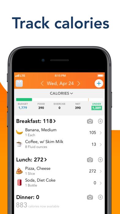 Lose It! – Calorie Counter screenshot one
