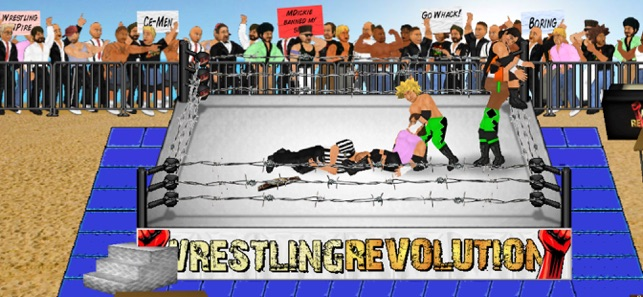 Wrestling Revolution on the App Store