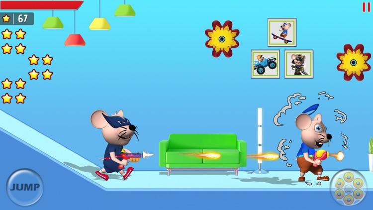 Mouse Mayhem Shooting & Racing screenshot-3