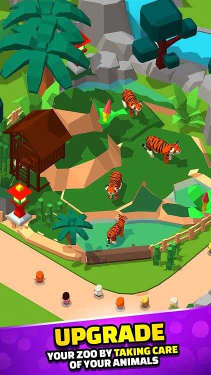 Idle Zoo Tycoon 3D screenshot-3