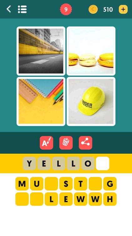 4 pics 1 word - Photo Puzzle