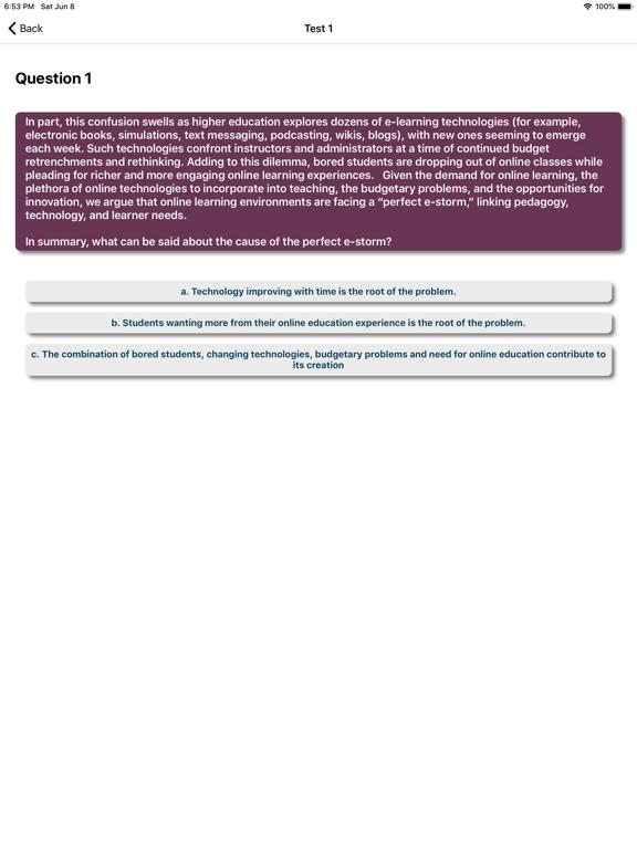 Comprehension Genius-QTS,IELTS screenshot 8