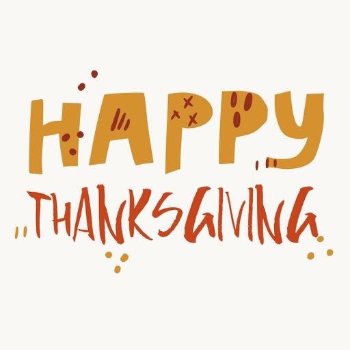 Thanksgiving Stickers Set