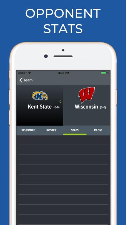 Wisconsin Football Schedules screenshot-7
