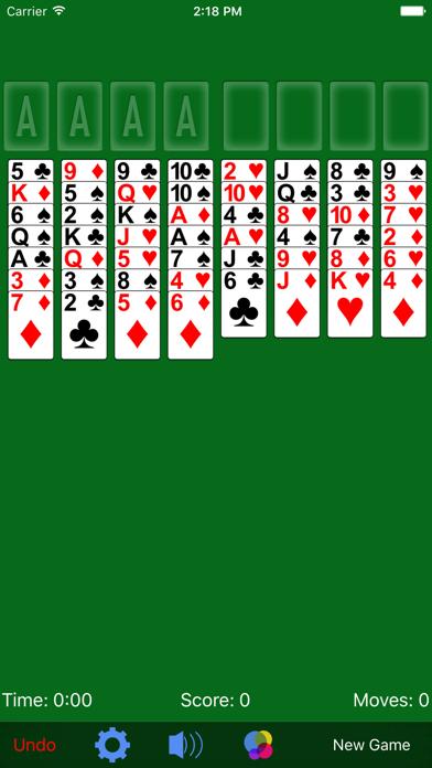 FreeCell· Screenshot