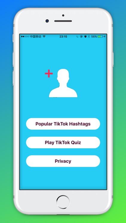 Hashtags for Tik Tok Fans screenshot-3