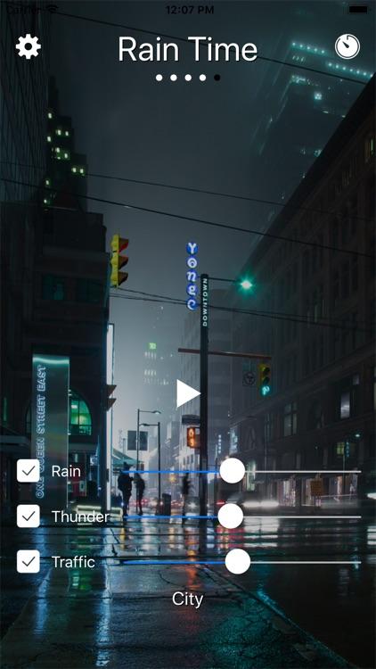 Rain Time - Relax and Sleep PV screenshot-4