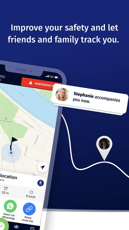 ArriveSafe – Location Sharing