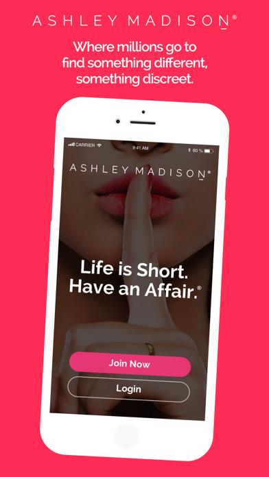 ASHLEY MADISON: Life Is Short. Screenshot