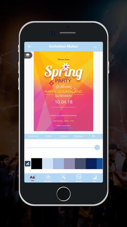 Party Invitation Maker! screenshot-5