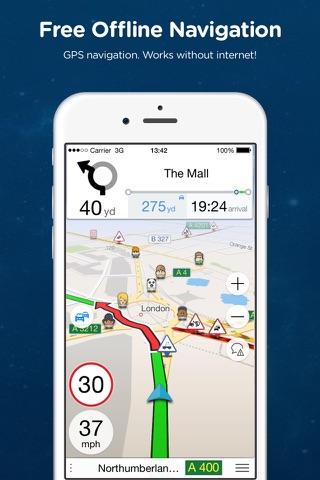 Navmii Offline GPS South Korea - náhled
