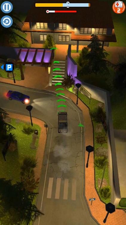 Thumb Car Driving screenshot-4