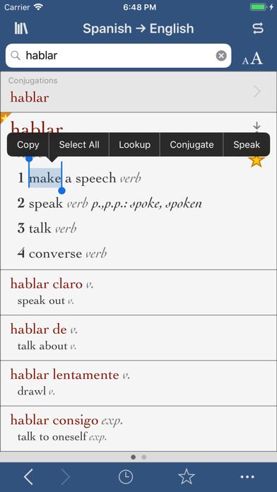 Ultralingua Spanish-Englishのおすすめ画像1