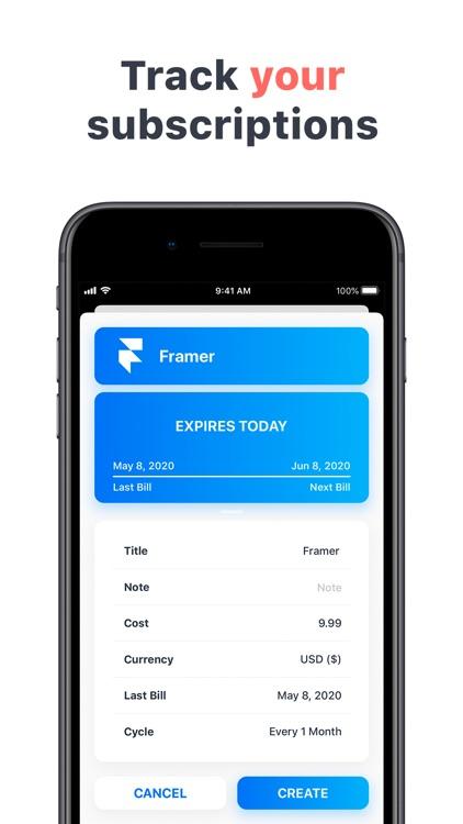 Skaffer - Track subscriptions screenshot-4