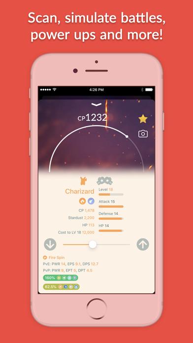 Screenshot #1 pour Pocketdex for Pokémon GO