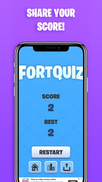 FortQuiz Trivia for Fortnight! screenshot-3