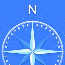 指南针专业版-集指南针和地图二合一的方向app