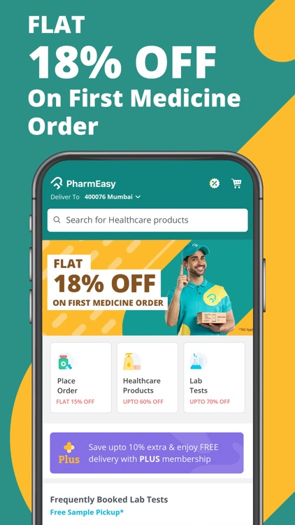 PharmEasy - Healthcare App