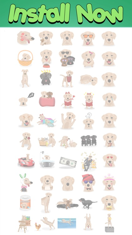 LabMoji - Labrador Emojis screenshot-4