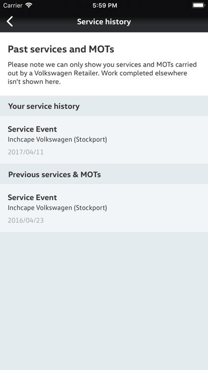 My Volkswagen screenshot-3