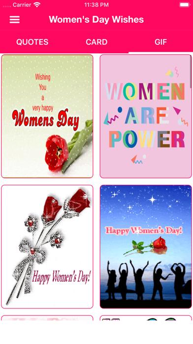 Women's Day Wishes screenshot 3