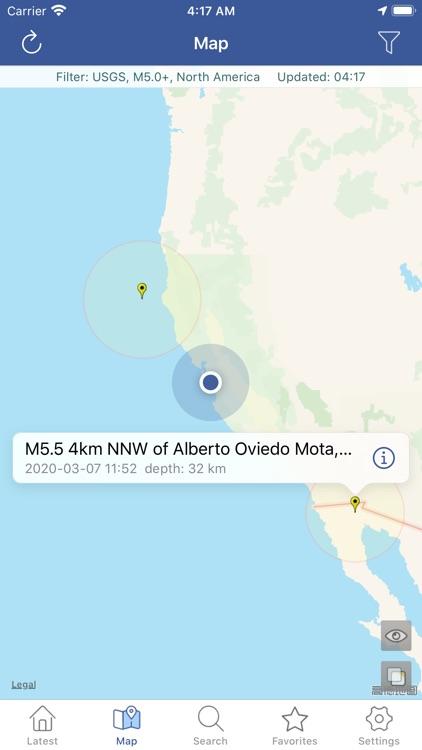 Earthquakes  - Latest & Alert screenshot-4