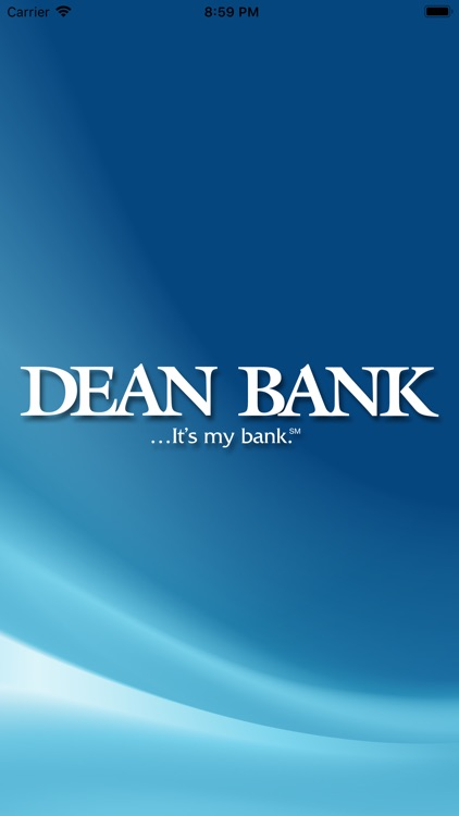 Dean Bank - Mobile Banking screenshot-0