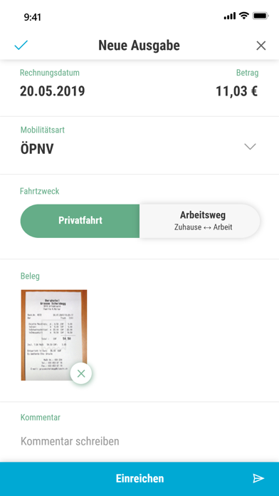 MOBIKO - Mobilitätsbudget screenshot #2