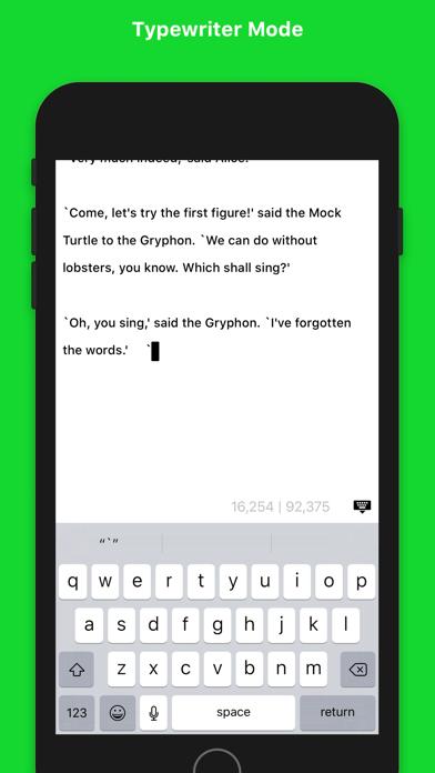 Screenshot #3 pour Writemator - Plain Text Editor