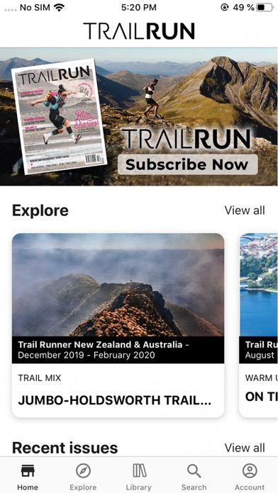 Trail RunScreenshot of 1