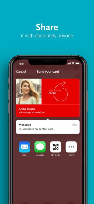 Haystack Visitenkarten Im App Store